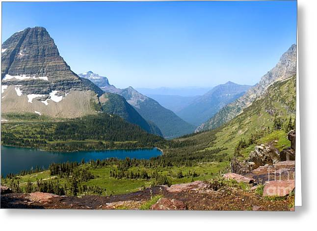 Hidden Lake Greeting Card by Gregory G. Dimijian, M.D.