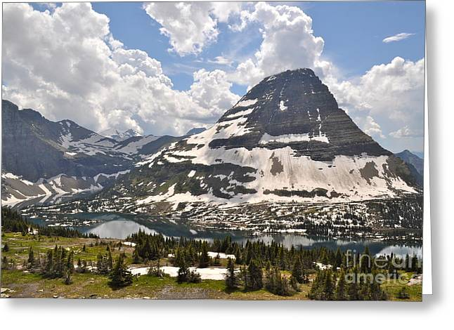 Greeting Card featuring the photograph Hidden Lake  by Johanne Peale