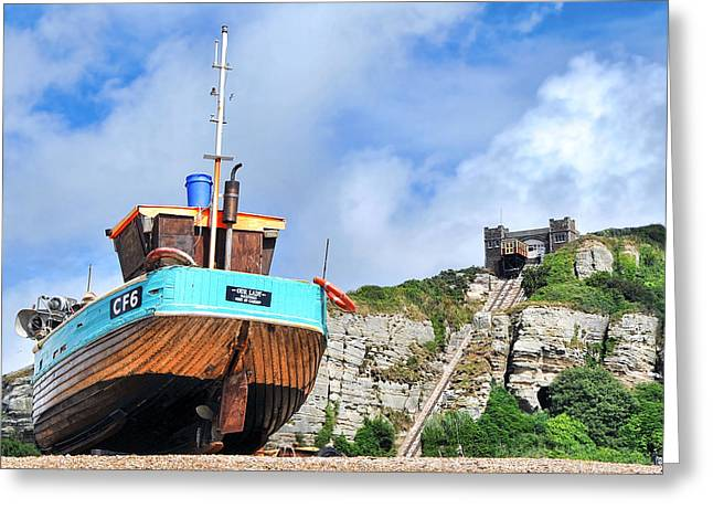 High And Dry Greeting Card by Graham Taylor