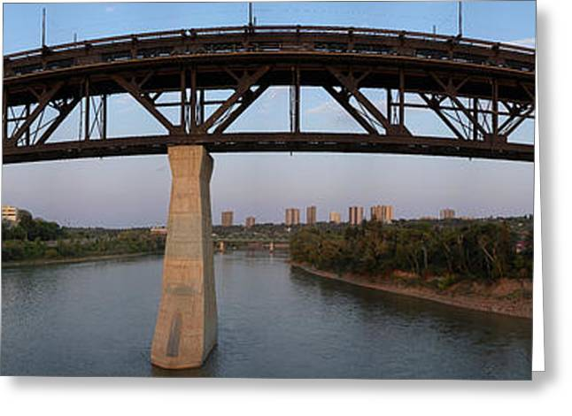 High Level Bridge Edmonton Greeting Card