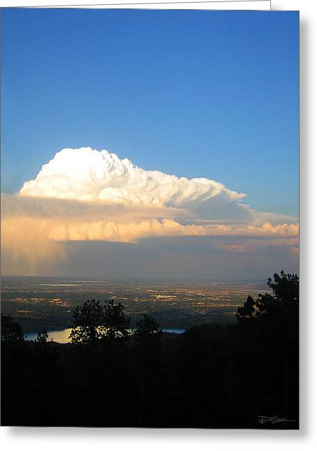 High Plains Thunder Greeting Card by Ric Soulen