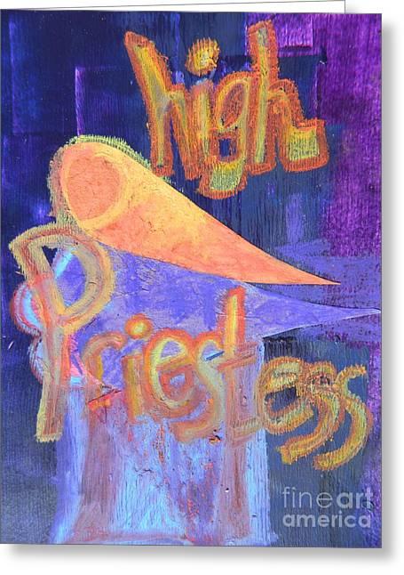 High Priestess Greeting Card
