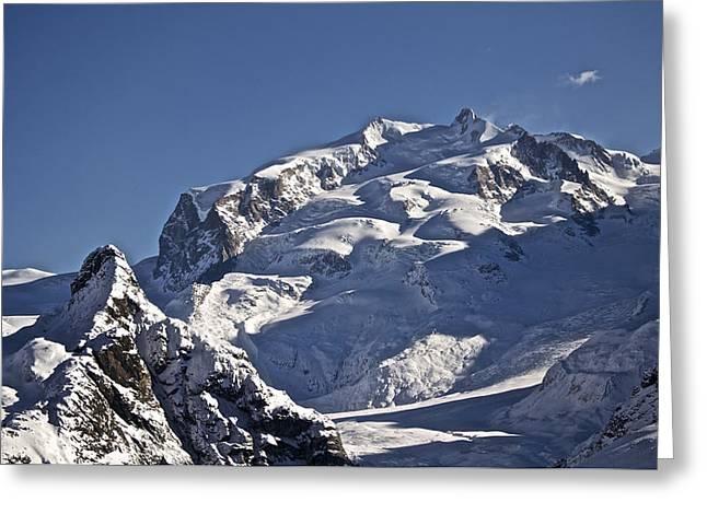 Highest Peak Greeting Card by Adam West
