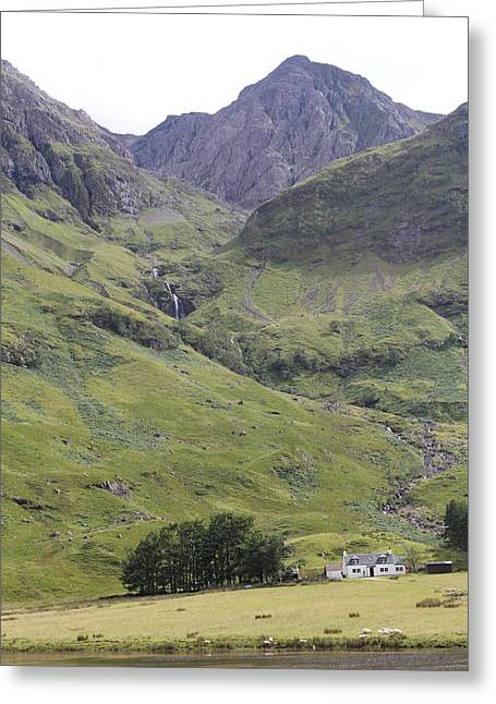 Greeting Card featuring the photograph Highland Pass by David Grant