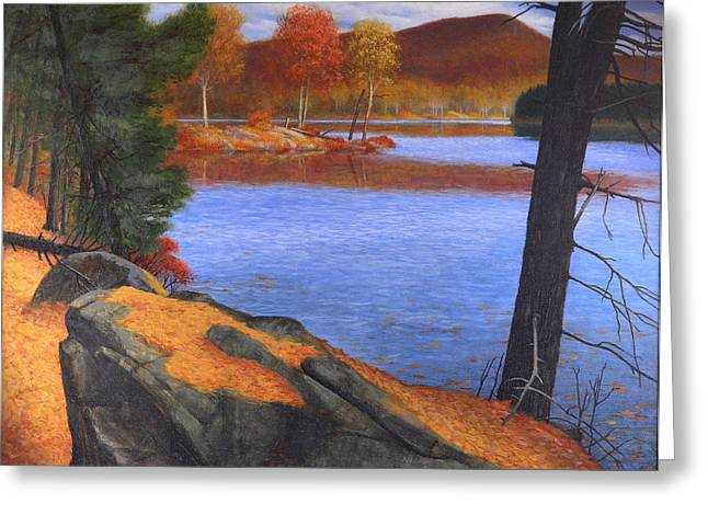 Highlands Octoberscape Greeting Card by Glen Heberling