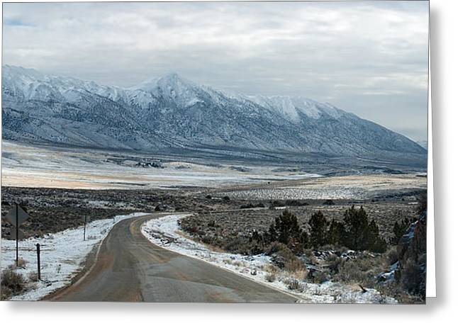 Greeting Card featuring the photograph Highway 447 by Gary Rose
