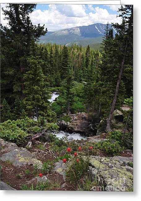 Hiking In Colorado Greeting Card