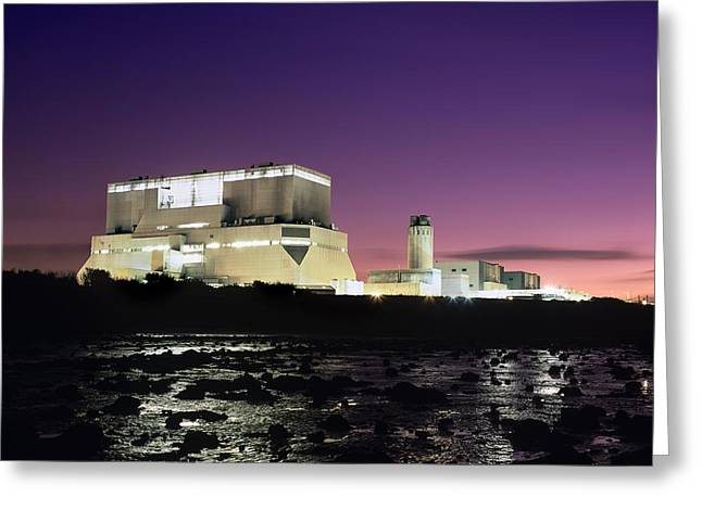 Hinkley Point Nuclear Power Station Greeting Card