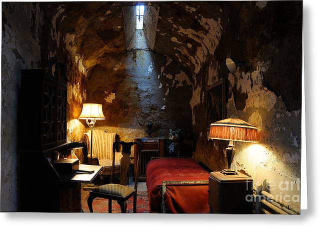 Historic Prison Cell Of Al Capone Greeting Card by Gary Whitton