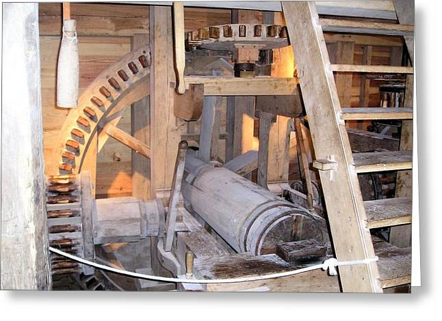 Historic Works Greeting Card by