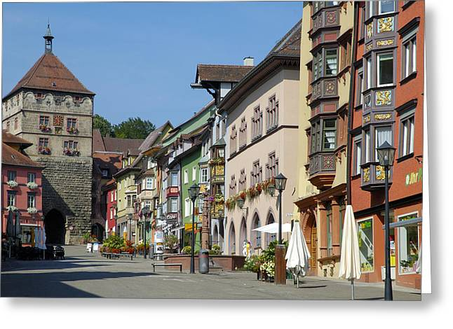 Historical Old Town Rottweil Germany Greeting Card
