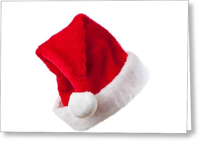 Ho Ho Ho - Santa Hat Greeting Card