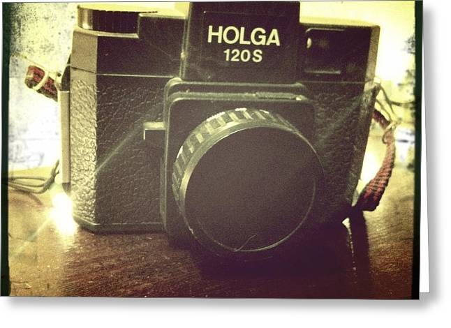 Holga Greeting Card by Nina Prommer