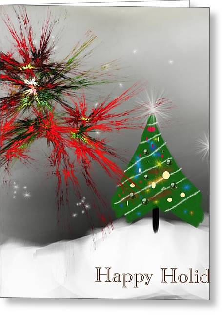 Holiday Card 2011a Greeting Card