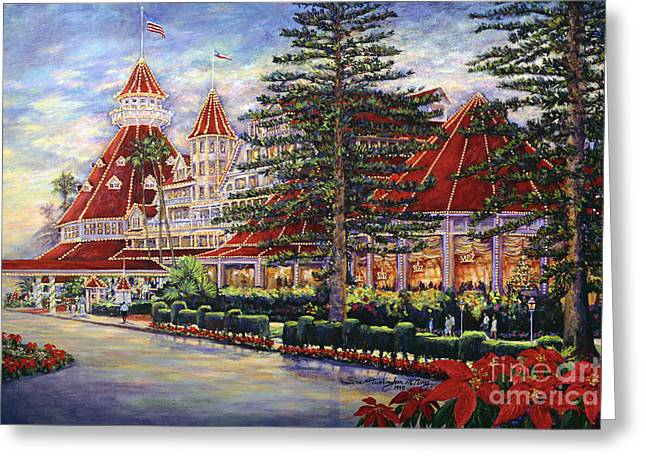 Holiday Hotel Greeting Card