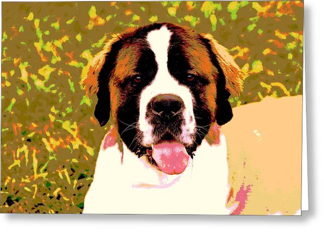 Holly Greeting Card by Dorrie Pelzer