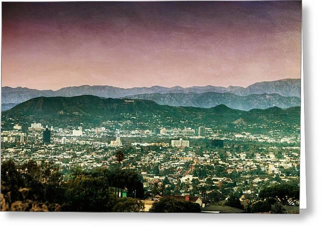 Hollywood At Sunset Greeting Card