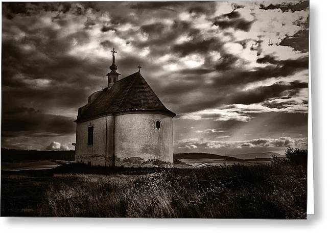 Holy Cross Chapel Greeting Card by Tom Bell
