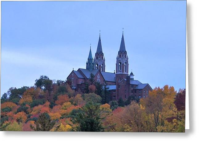 Greeting Card featuring the photograph Holy Hill by Kristine Bogdanovich