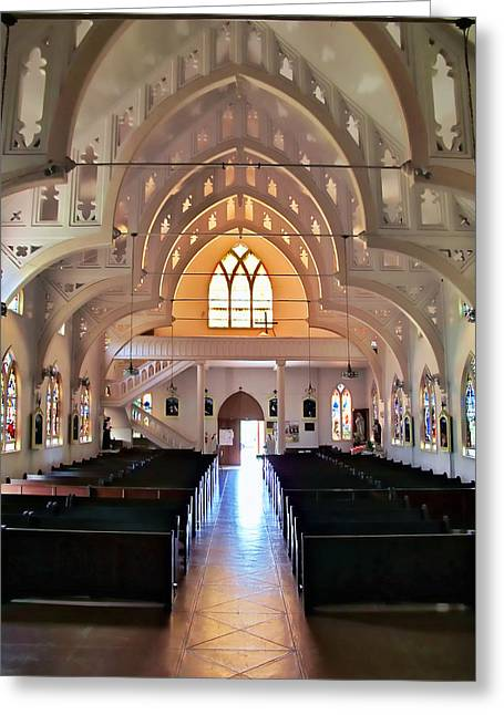 Greeting Card featuring the photograph Holy Rosary 2 by Dawn Eshelman