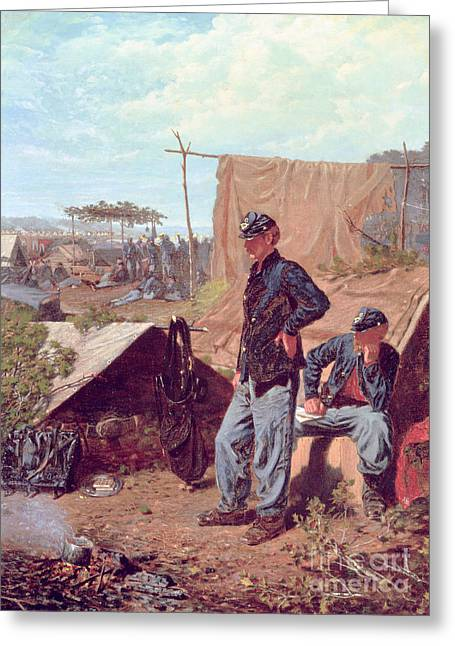 Home Sweet Home Greeting Card by Winslow Homer