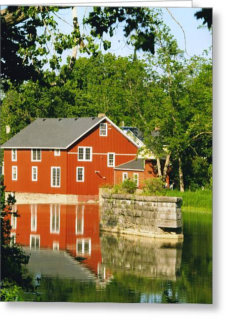 Honeoye Falls Mill One Greeting Card by Joshua House