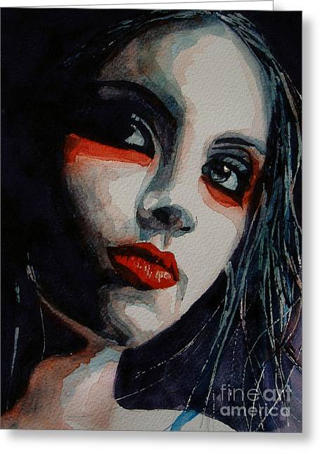 Honky Tonk Woman Greeting Card by Paul Lovering