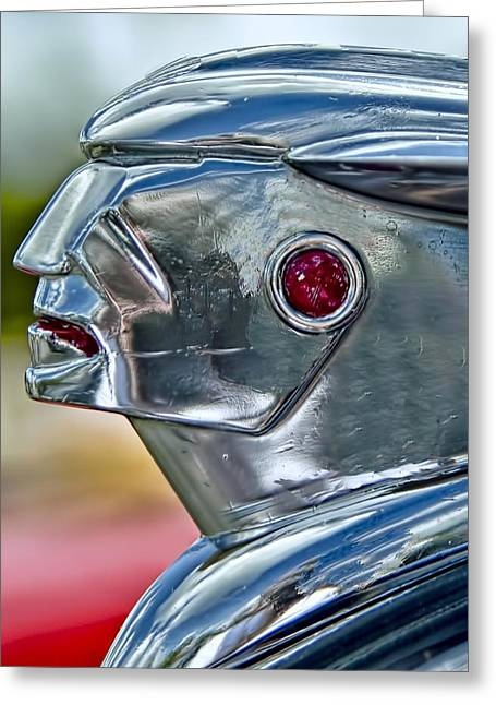 Hood Ornament Greeting Card