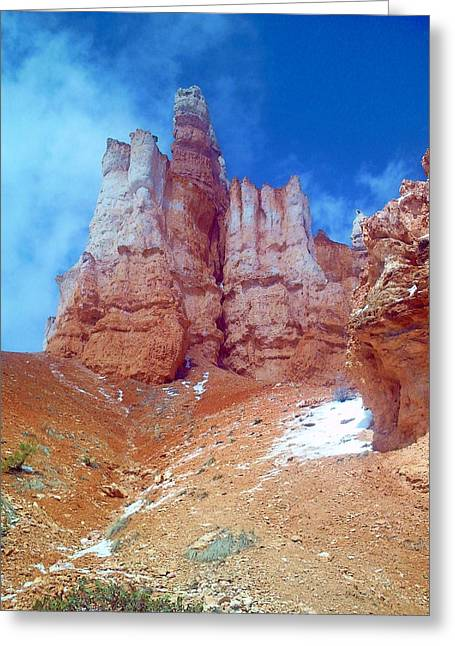Hoodoo Castle Greeting Card