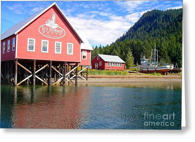 Hoonah  Greeting Card