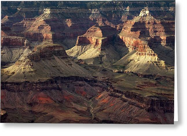 Hopi Point Greeting Card by Cindy Rubin
