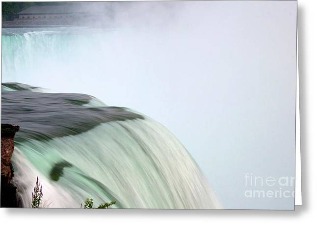 Horseshoe Falls Mist Greeting Card