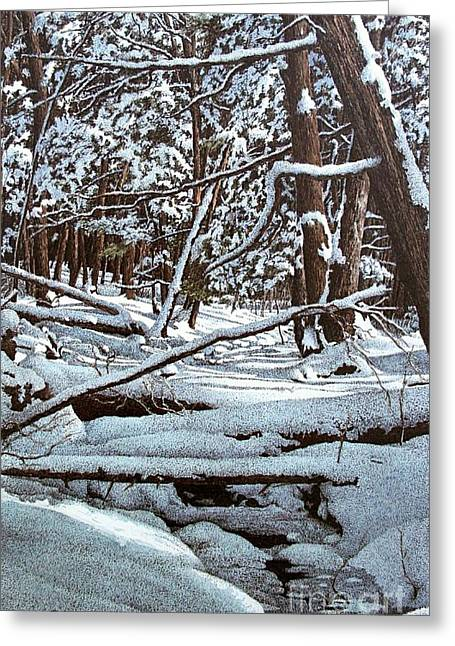 Horseshoe Valley Greeting Card