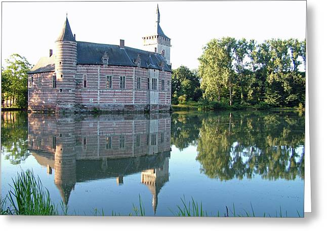Horst Castle Belgium Greeting Card by Joseph Hendrix