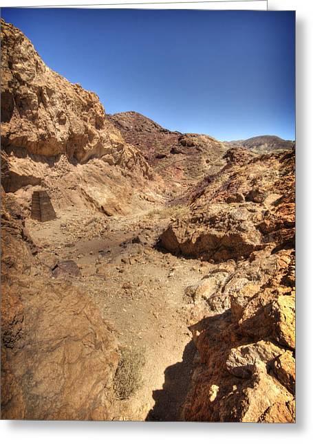 Hot Desert Greeting Card