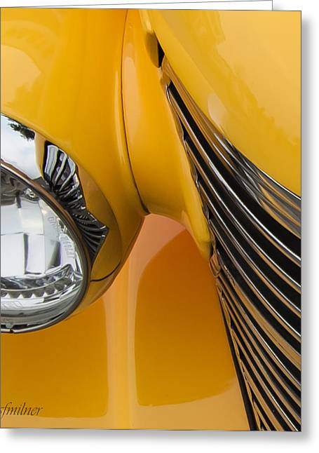 Hot Rod Chevy Greeting Card by Steven Milner