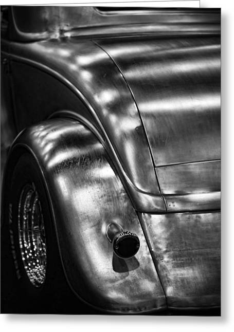Hot Rod In The Raw Greeting Card by Gordon Dean II