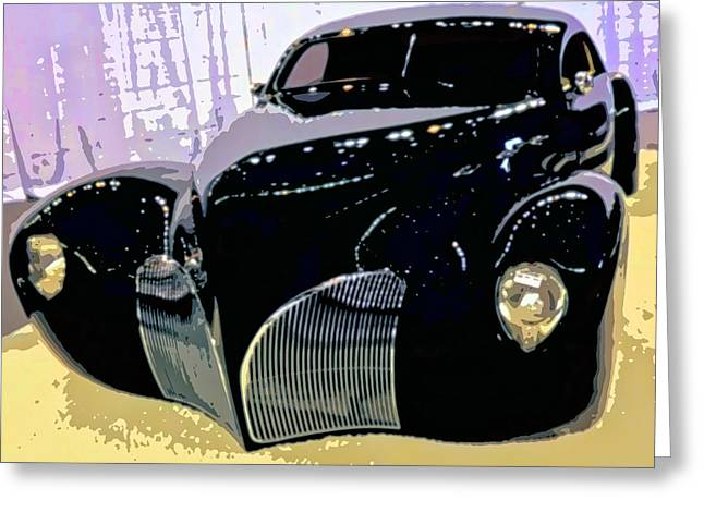 Hot Rod Greeting Card by Michael Pickett