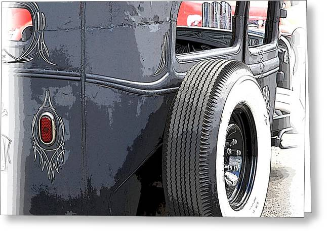 Hot Rods Forever Greeting Card by Steve McKinzie