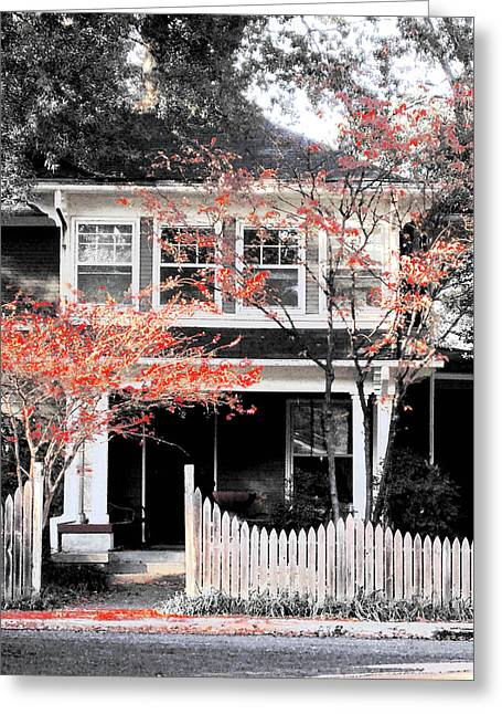 House In Cooper Young Greeting Card
