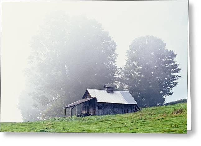 House Near Peacham, Vermont, Usa Greeting Card