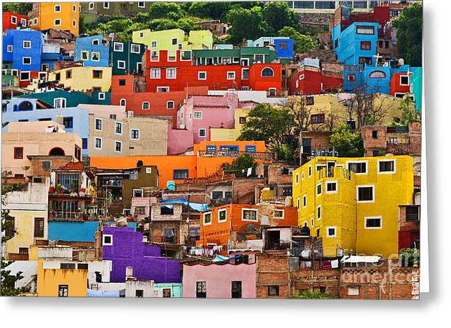 Greeting Card featuring the photograph House Of Guanajuato - Mexico by Craig Lovell