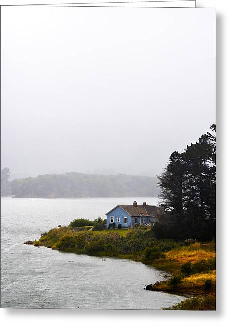 House On The Water - Vertical Greeting Card