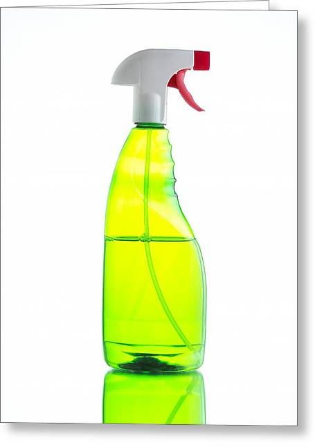 Household Cleaner Greeting Card by Mark Sykes