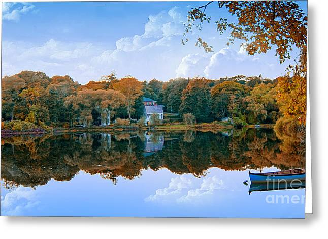 Hoxie Pond Greeting Card