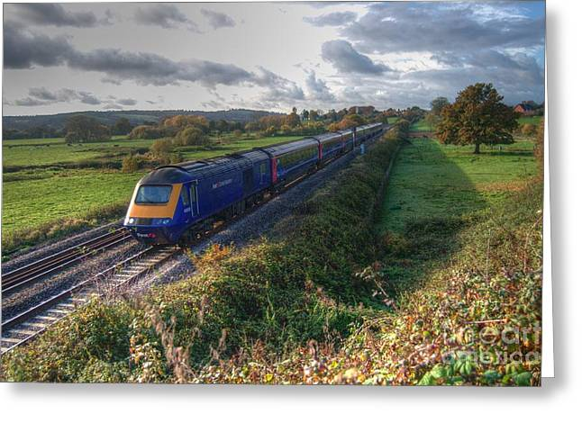 Hst At Rewe Greeting Card by Rob Hawkins