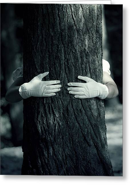 hug Greeting Card by Joana Kruse