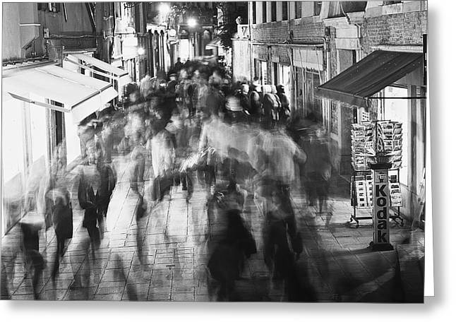 Hustle And Bustle Greeting Card by Heiko Koehrer-Wagner