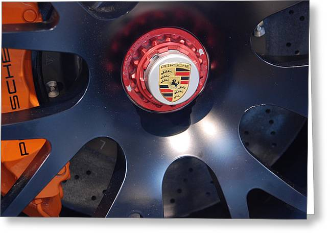 Greeting Card featuring the photograph Hybrid Wheel by John Schneider