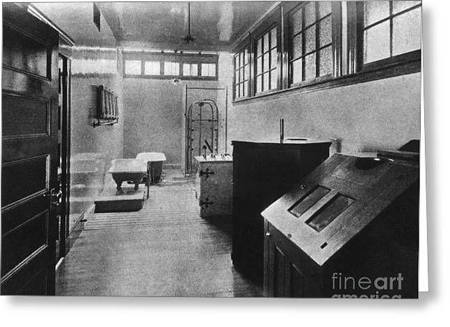 Hydropathic Room, 1904 Greeting Card